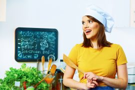 Zhubnout znamená spoléhat se v kuchyni sám na sebe