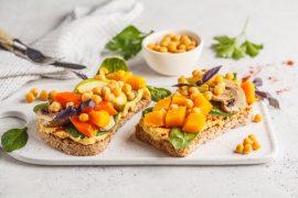 Jídelníček plný dobrot obohacený o potraviny rostlinného původu