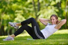 Návod, jak zhubnout břicho