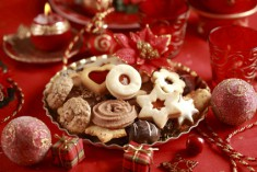 Přejídání o Vánocích