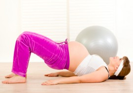 Jaké cviky zvolit v těhotenství?