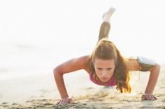 Vlastní váha těla - cvičení