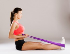 Jak cvičit s gumou?