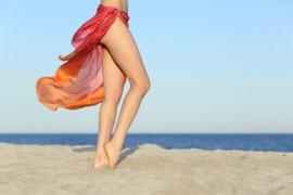Krásné nohy bez celulitidy