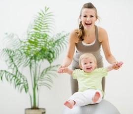 Jak cvičit s miminkem?