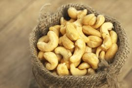 Dieta s kešu ořechy