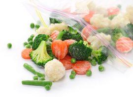 Mylné předsudky o mražených potravinách - zelenina v hlavní roli